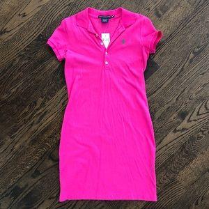 Ralph Lauren Sport Hot Pink Dress💕